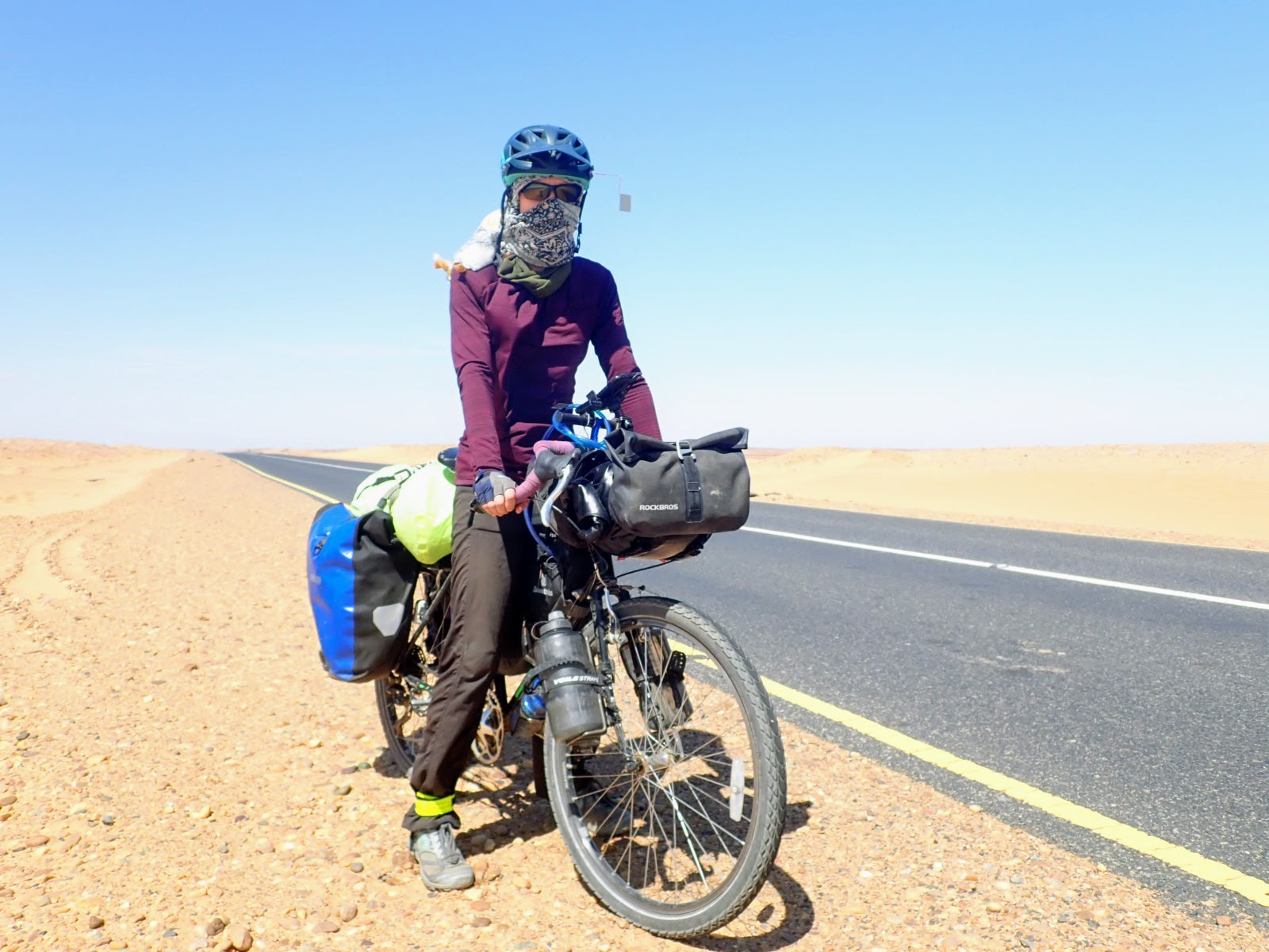 Cycling solo as a woman in Sudan