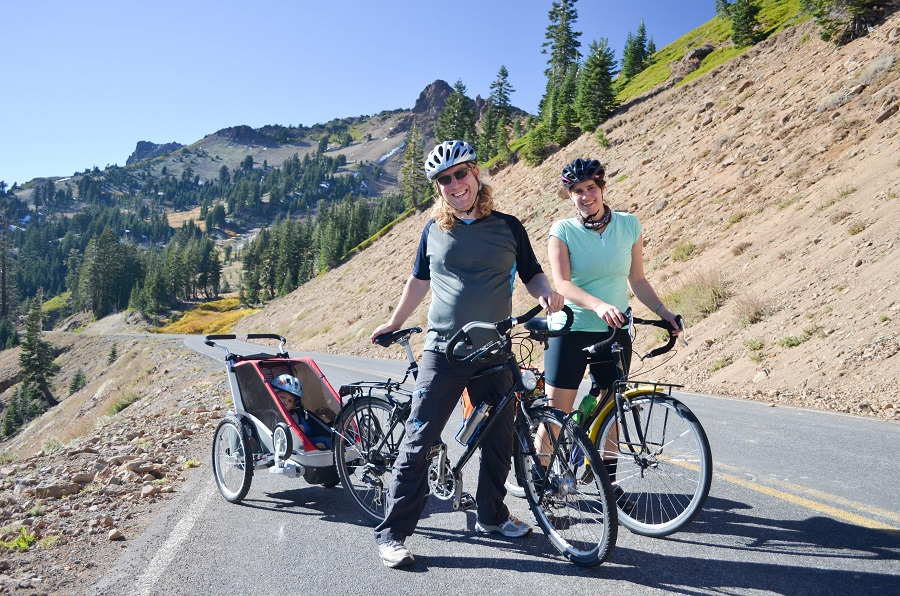 Bike Your Park Day Bike Travel Weekend Lassen NP Adventure Cycling