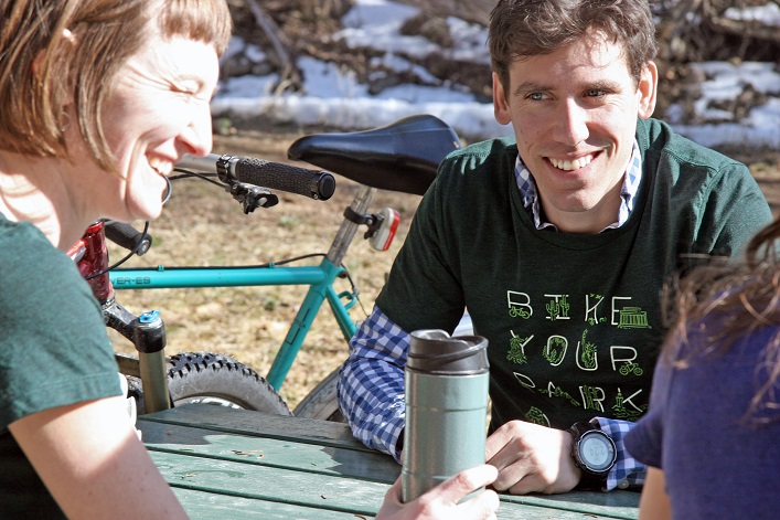 Bike Your Park and Bike Travel Weekend t-shirts, socks, apparel