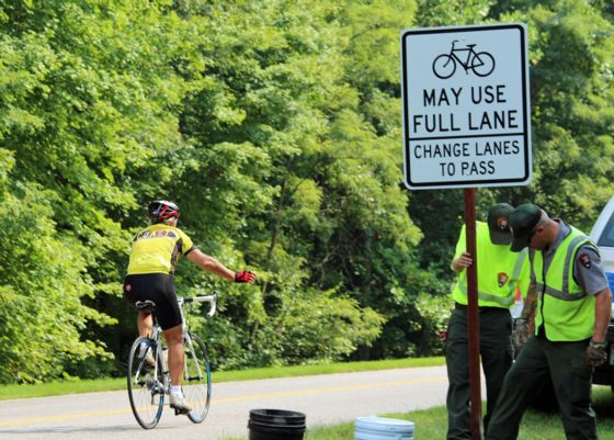 Natchez Trace Parkway Elevation Map.Natchez Trace Parkway Project Will Enhance Safety For Cyclists