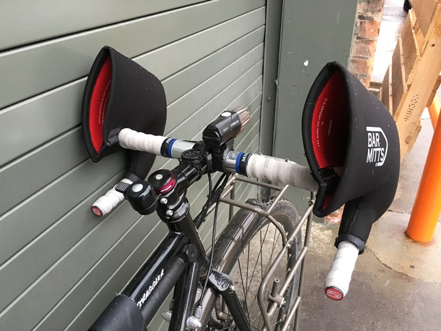 Warm Up Your Ride With Bar Mitts Handlebar Covers Adventure