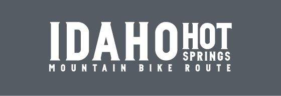 Graphic of Idaho Hot Springs Mountain Bike Route