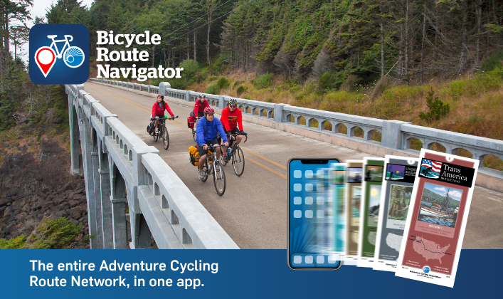 Bicycle Route Navigator release cyclists