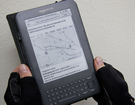 kindle in action