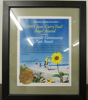 Photo of Monroeville 2005 June Curry Trail Angel Award