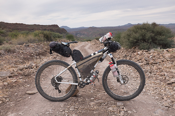 Building a Bike for the Baja Divide | Adventure Cycling Association