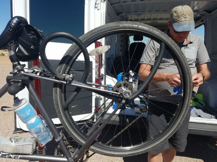 a fully supported Arizona bike tour with Adventure Cycling