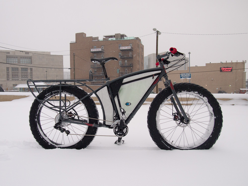 Longtail fatbike from Hunter Cycles