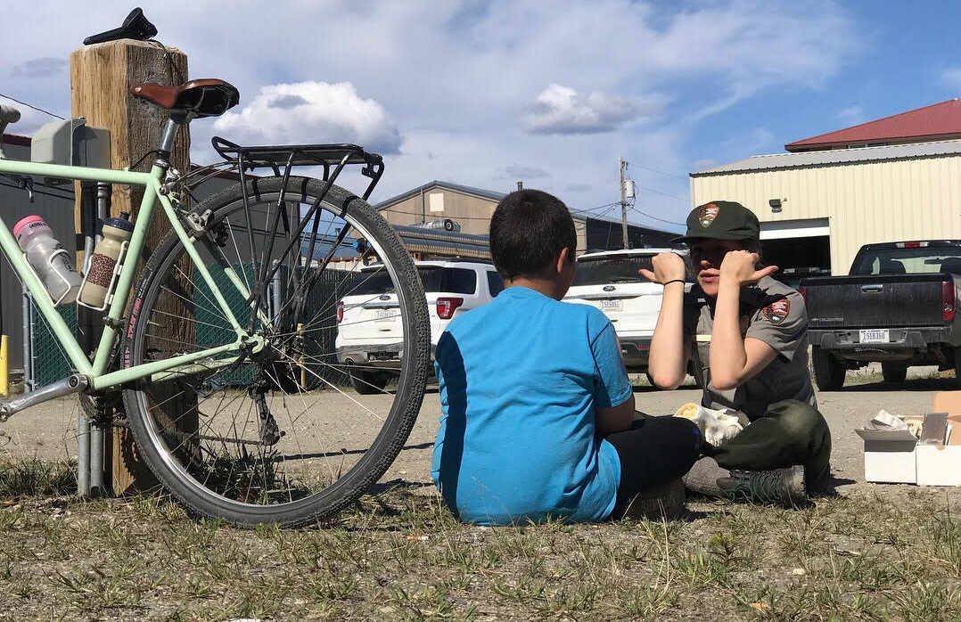 kotzebue greg siple award bike travel cycling youth national park service