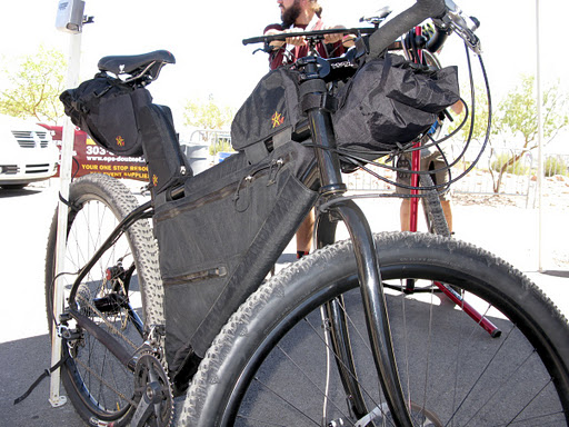 Snow Bikes and Frame Bags | Adventure Cycling Association